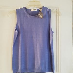 Valerie Stevens Sleeveless Top - M